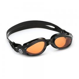 Gafa Aqua Sphere Kaiman negro lente naranja