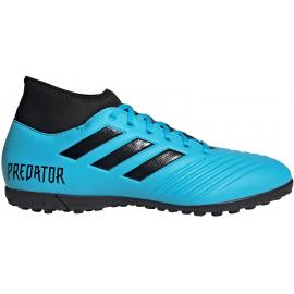 Botas fútbol adidas Predator 19.4 S TF azul junior