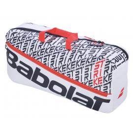 Mochila tenis Babolat Duffle M Pure Strike blanco/rojo