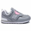 Zapatillas New Balance IV574ZOE gris bebé