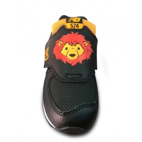 Zapatillas New Balance IV574ZOL negro bebé