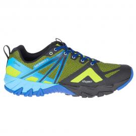Zapatillas Montaña Merrell MQM Flex GTX neon azul hombre