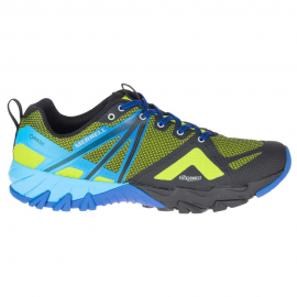 Zapatillas trekking Merrell MQM Flex GTX lima/azul hombre
