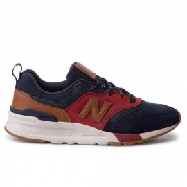 Zapatillas New Balance CM997HDT azul rojo marrón hombre