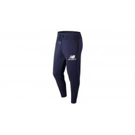 Pantalón New Balance Essentials Stacked Logo azul hombre