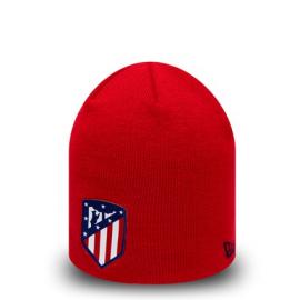 Gorro New Era Atlético Madrid Skull Knit rojo