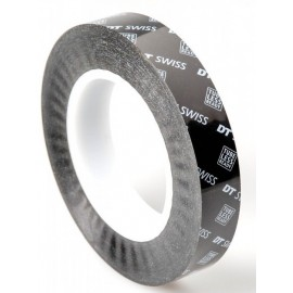 Cinta Dt Swiss Tubeless Ready Tape 25mm / 66 metros black