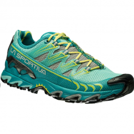 Zapatillas trail running La Sportiva Ultra Raptor verde muje