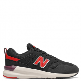 Zapatillas New Balance YS009LA1 negro/rojo junior