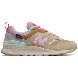 Zapatillas New Balance CW997HOA marrón rosa mujer
