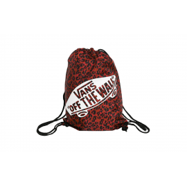 Mochila saco Vans Benched bag rojo/negro