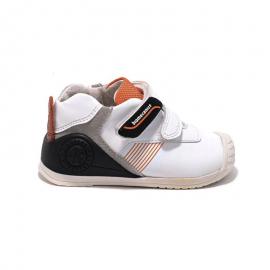 Zapatillas Biomecanics 191159 blanco/negro bebé