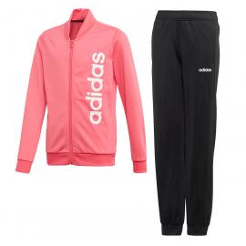 Chándal adidas Kimana rosa/blanco/negro niña
