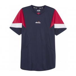 Camiseta tenis/pádel Ellesse Beasley azul hombre