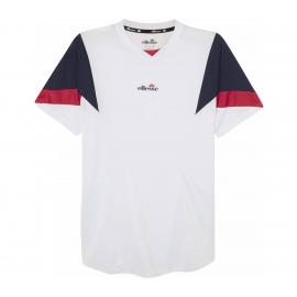 Camiseta tenis/pádel Ellesse Beasley blanco hombre