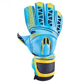 Guantes fútbol HD Soccer Ikarus Roll Gecko azul/amarillo