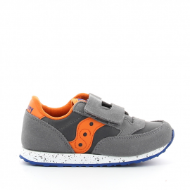 Zapatillas Saucony Baby Jazz HL gris/naranja/azul bebé
