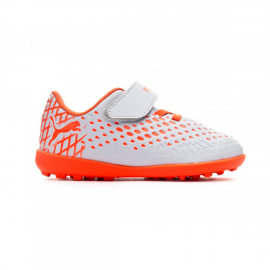 Zapatillas fútbol Puma Future 4.4 TT V gris/rojo bebé