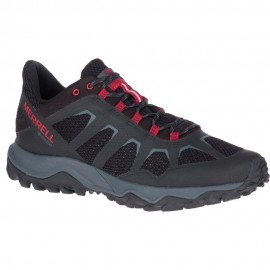 Zapatillas trekking Merrell Fiery GTX negro/rojo hombre