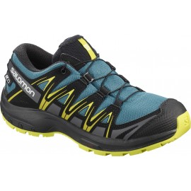 Zapatillas trail running Salomon Xa Pro 3D CSWP J verde miñ@