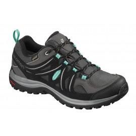 Zapatillas trekking Salomon Ellipse 2 GTX gris/negra mujer