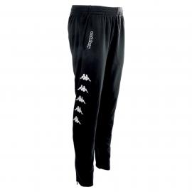 Pantalón Kappa Pagino negro/blanco hombre