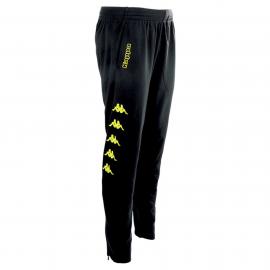 Pantalón Kappa Pagino negro/fluor hombre
