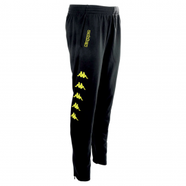 Pantalón Kappa Pagino negro/fluor niño