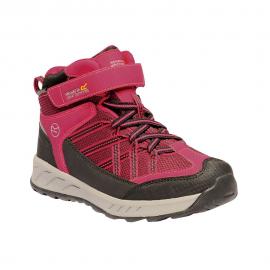 Botas trekking Regatta Samaris V Mid rosa niña