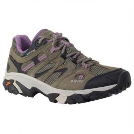 Zapatillas trekking Hi-Tec Ravus Vent Low Wp marrón mujer