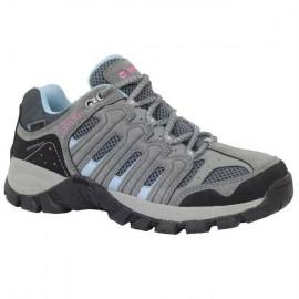 Zapatillas trekking Hi-Tec Gregal Low Wp gris mujer