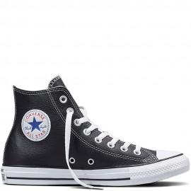 Zapatillas Converse Chuck Taylor Hi piel negro unisex