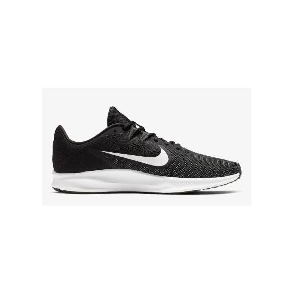 Zapatillas Nike Downshifter 9 negro blanco hombre