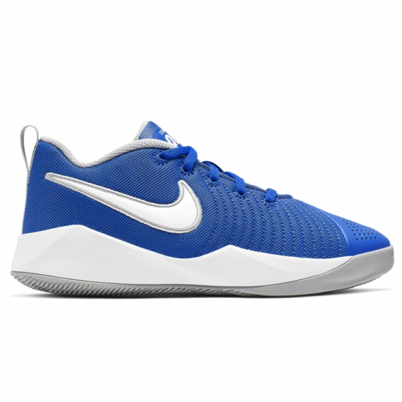 temor conspiración antecedentes  Zapatillas baloncesto Nike Team Hustle Quick 2 (GS) azul jr - Deportes Moya