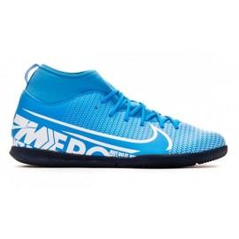 Botas fútbol Nike Mercurial Superfly 7 Club IC azul junior