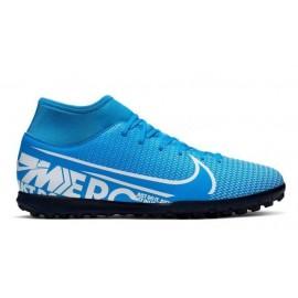 Botas fútbol Nike Mercurial Superfly 7 Club TF azul hombre