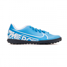 Botas fútbol Nike Mercurial Vapor 13 Club TF azul junior