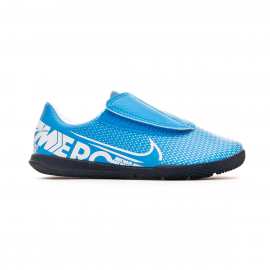 Zapatillas futbol Nike Vapor 13 Club IC (PS) azul niño