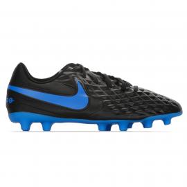 Zapatillas fútbol Nike Tiempo Legend 8 Club FG/MG negro jr