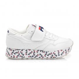 Zapatillas Fila Orbit Zeppa Strada blanco mujer