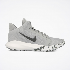 Zapatillas baloncesto Nike Precision III gris hombre