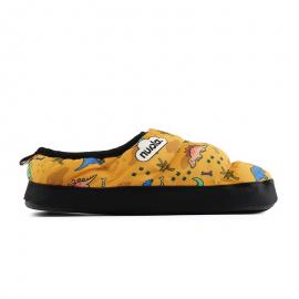 Zapatillas casa Nuvola Dino amarillo niño
