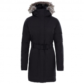 Abrigo The North Face Brooklin Parka II negro mujer