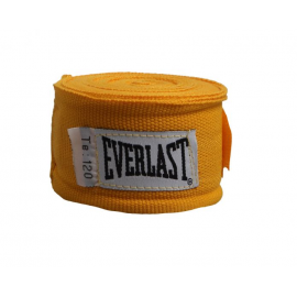Vendas boxeo Everlast EVR000447 algodón amarillo