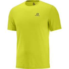 Camiseta trail running Salomon Xa Tee amarillo hombre