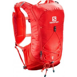 Mochila trail running Salomon Agile 12 SET rojo