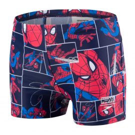 Bañador Speedo Spidermanl Allover Aquashort azul/rojo niño