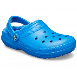 Zuecos Crocs Classic Lined Clog U azul royal hombre