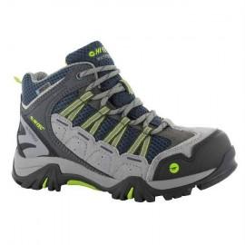 Botas trekking Hi-Tec Forza Mid Jr gris niño