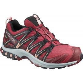 Zapatillas trail running Salomon Xa Pro 3D GTX roja mujer